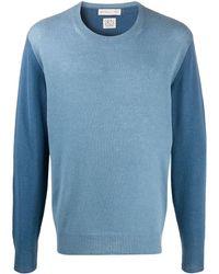 Etro Color Block Sweater - Blue