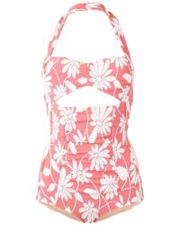 Miu Miu Daisy Swimsuit - Pink