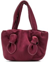 STAUD Ronnie Top-handle Tote - Red