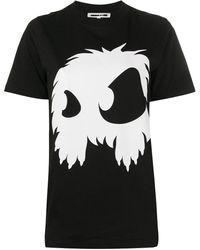 Alexander McQueen Monster Tシャツ - ブラック