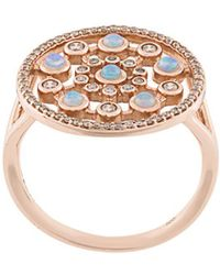 Astley Clarke Icon Nova Ring Met Opaal - Metallic
