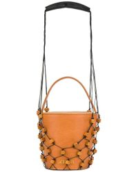 Jacquemus - Beaded Net Tote Bag - Lyst