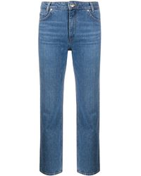 Sandro Cropped Jeans - Blue