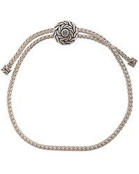 John Hardy Bracelet Classic Chain Pull - Métallisé