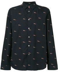 PS by Paul Smith - Shark Print Shirt - Lyst