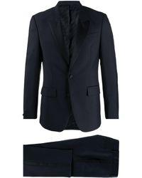 Givenchy タキシード スーツ - ブルー