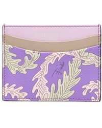 Emilio Pucci X Koché Selva Print Cardholder - Purple