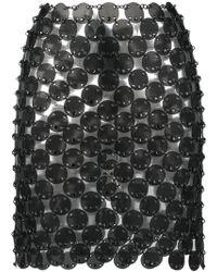 Paco Rabanne - Chainmail Mini Skirt - Lyst
