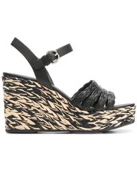 Prada Chaussure à Talon Compensé Femme - Noir