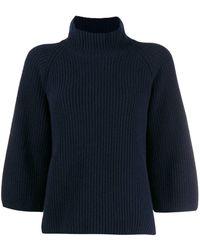 Gentry Portofino ファンネルネック セーター - ブルー