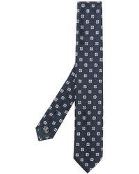 Ermenegildo Zegna - Embroidered Woven Tie - Lyst