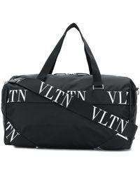 Valentino Garavani Boston ロゴ ボストンバッグ - ブラック