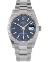 Rolex 2020 Unworn Oyster Perpetual Datejust 36mm - Blue