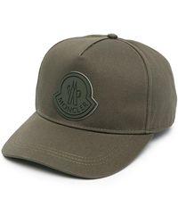 Moncler Кепка С Нашивкой-логотипом - Зеленый