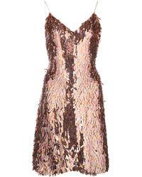 Alice + Olivia - スパンコール ドレス - Lyst
