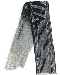 Rockins - Sequins Embellished Scarf - Lyst