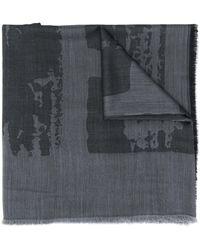 Z Zegna - アブストラクトパターン スカーフ - Lyst