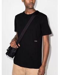 Soulland ロゴ Tシャツ - ブラック