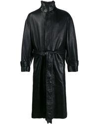 AMI Пальто Оверсайз - Черный