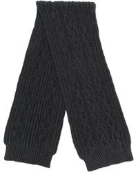 Pringle of Scotland - Aran Cable Knitted Scarf - Lyst