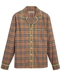 Burberry - Checked Shirt - Lyst