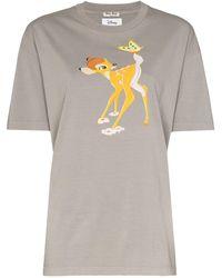 Miu Miu - Bambi プリント Tシャツ - Lyst