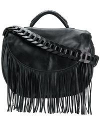 RED Valentino - Fringed Shoulder Bag - Lyst