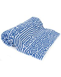 John Elliott - Geometric Print Beach Towel - Lyst