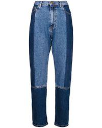 McQ - Vintage Panelled Jeans - Lyst