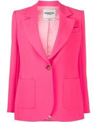 Essentiel Antwerp Vactive Single-breasted Blazer - Pink