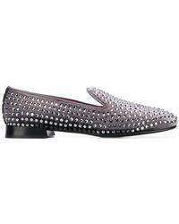 Alberto Gozzi - Studded Loafers - Lyst