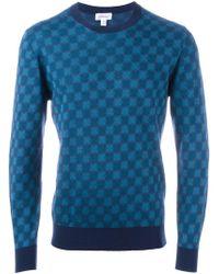 Brioni - Geometric Pattern Sweatshirt - Lyst