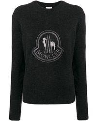 Moncler ロゴ スウェットシャツ - グレー