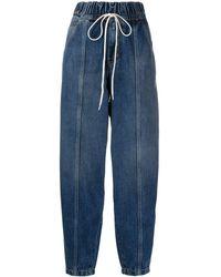Givenchy ドローストリング ジーンズ - ブルー