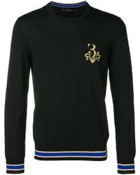 Billionaire - Werner Logo Embroidered Sweater - Lyst