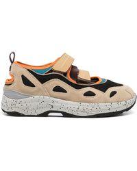 Suicoke Akk-ab Touch-strap Sneakers - Multicolour