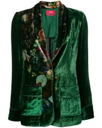 F.R.S For Restless Sleepers - Blazer con motivo floral - Lyst