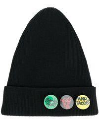 Marc Jacobs - Button Badge Beanie - Lyst