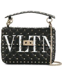 Valentino - Garavani Vltn Rockstud Spike Medium Bag - Lyst