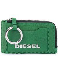 DIESEL カードケース - グリーン
