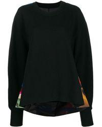 Maison Margiela Graphic-print Sweater - Black