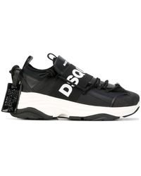 DSquared² 'D-Bumpy One' Sneakers - Schwarz