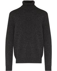Dolce & Gabbana Свитер С Высоким Воротником - Серый