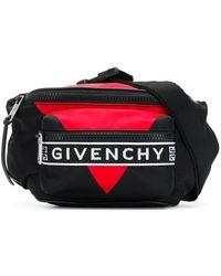 Givenchy Gürteltasche mit Logo - Schwarz