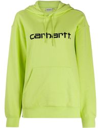 Carhartt WIP - ロゴ スウェットパーカー - Lyst