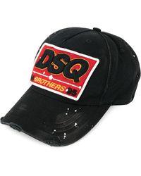DSquared² Baseballkappe mit Logo-Patch