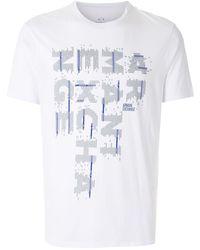 Armani Exchange - ロゴ Tシャツ - Lyst