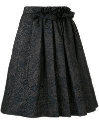 Lanvin ジャガード スカート - ブラック