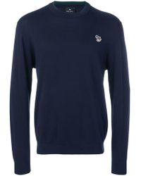PS by Paul Smith - Zebra Patch Sweatshirt - Lyst