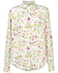 Faith Connexion - Rose Print Shirt - Lyst